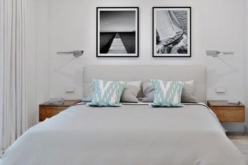 Eines von 3 schönen Schlafzimmern