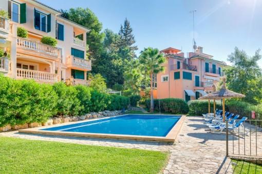 Duplex-Wohnung mit großzügigem Außenbereich in Ca's Catalá