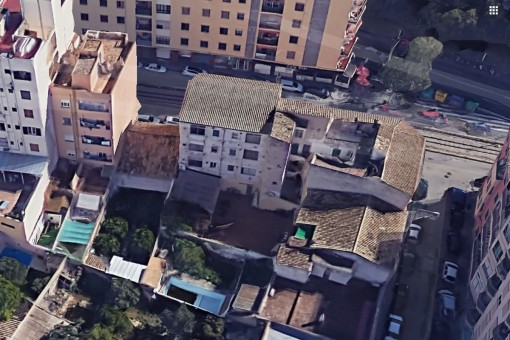 Gebäude aus der Vogelperspektive