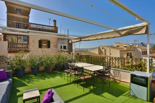 Beeindruckendes Luxus-Penthouse in der Altstadt von Palma