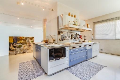 Moderne und einzigartige Küche