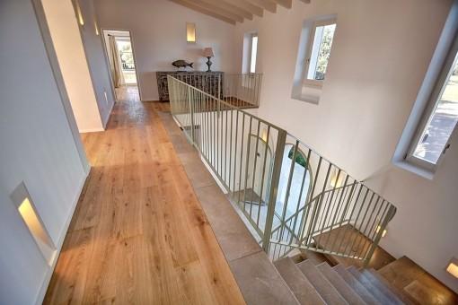 Ansicht des Treppenaufgangs