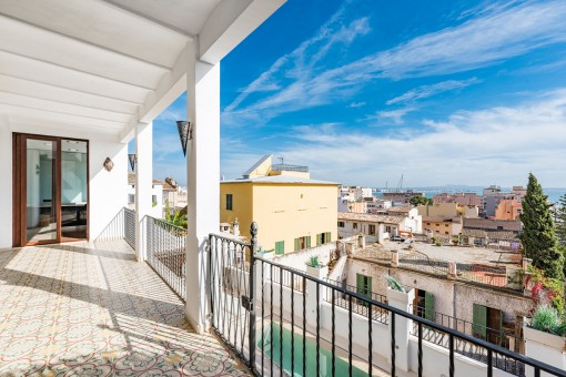 Schöne, modernisierte Erdgeschosswohnung mit Meerblick in El Terreno