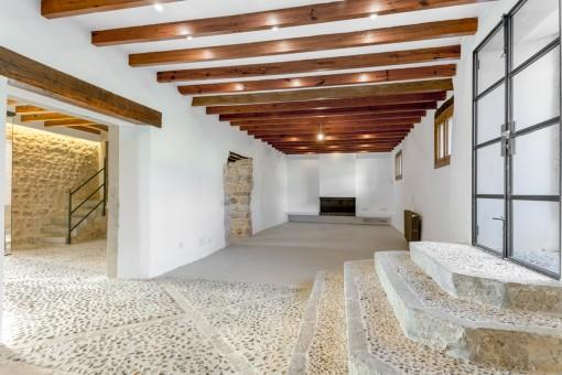 Wundervoll renovierter Wohnbereich
