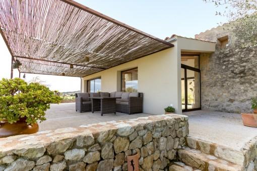Zugang zur Terrasse