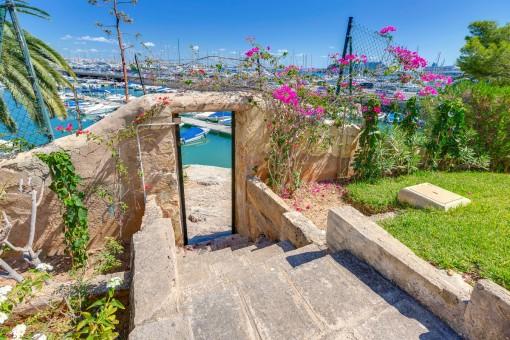 Schöne, renovierungsbedürftige Wohnung in der Gegend von Can Barbara in Palma de Mallorca