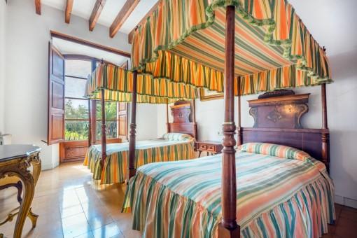 Außergewöhnliches Schlafzimmer