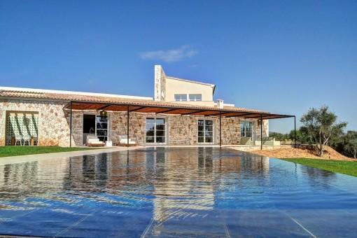 Einzigartige Villa mit Meerblick in atemberaubender Umgebung in Cala Mondrago