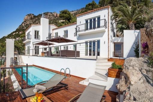 Herrliche Villa, ein Highlight in der Bucht der Cala Llamp - Puerto Andratx