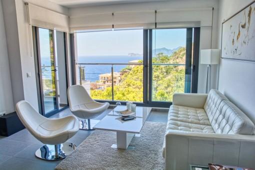 Hochwertiges Apartment mit atemberaubenden Meerblick in Port Andratx