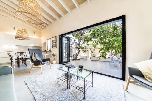 Schön renovierter Wohnbereich
