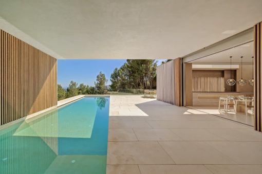 Atemberaubende Designer-Villa mit Meerblick in Son Vida
