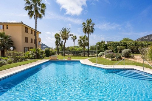 Helle Erdgeschosswohnung in beliebter Gemeinschaftsanlage von Port Andratx, Mallorca
