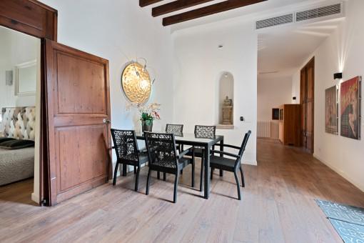 Atemberaubende Wohnung in prädestinierter Lage mitten in der Altstadt von Palma mit Terrasse