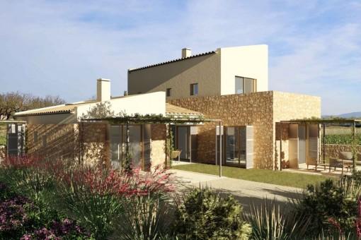 Interessantes Bauprojekt für eine Finca mit eigenem Weinanbau