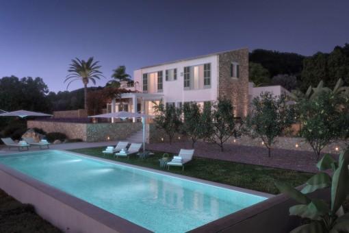 Mediterranes Landhaus Mit Pool In Cas Concos Kaufen