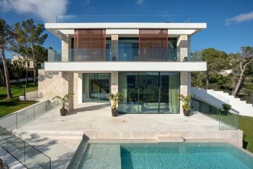 Exklusive Villa mit Pool in Monport, Puerto Andratx