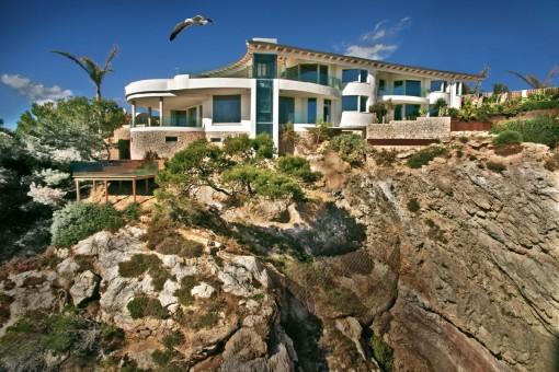 Einzigartige Villa mit Meerblick in Santa Ponsa