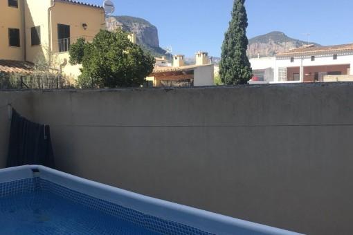 Pool des Hauses