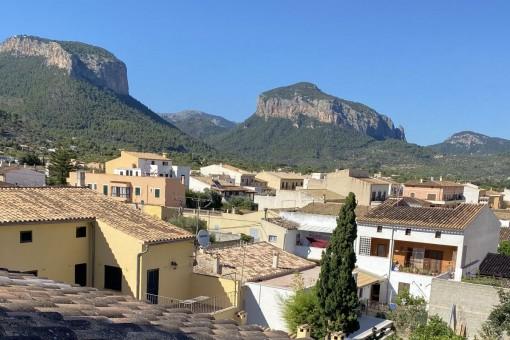 Reihenhaus in Alaró mit atemberaubender Aussicht