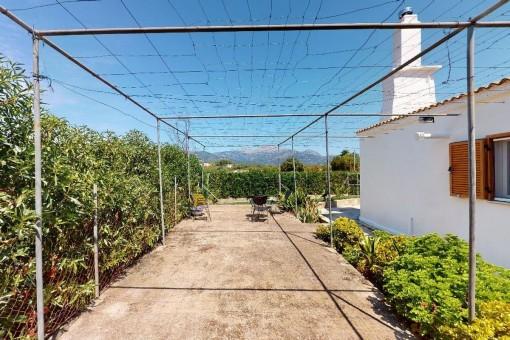 Außenbereich und Garten