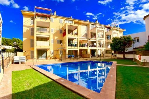 Sonnige Erdgeschosswohnung in schöner Lage in Cala Ratjada