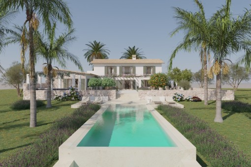 Exklusive Neubaufinca mit Pool nahe Cas Concos