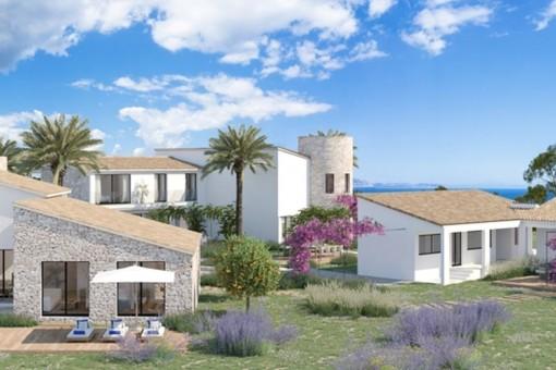 Traumprojekt in einzigartiger Lage bei Arta mit direktem Zugang zu einer der schönsten Naturstrandbuchten Mallorcas