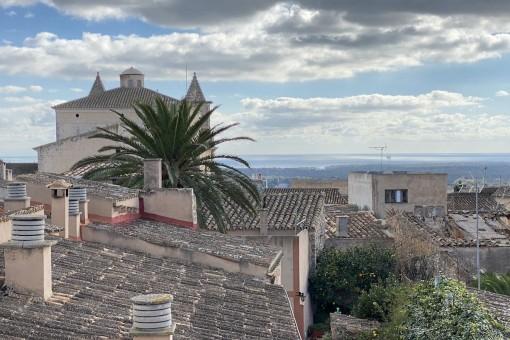 Baugrundstück mit fantastischem Weitblick im Herzen von S'Alquería Blanca