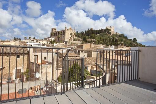 Geschmackvoll renoviertes Dorfhaus mit Pool und fantastischem Blick auf das Heiligtum San Salvador in Artà