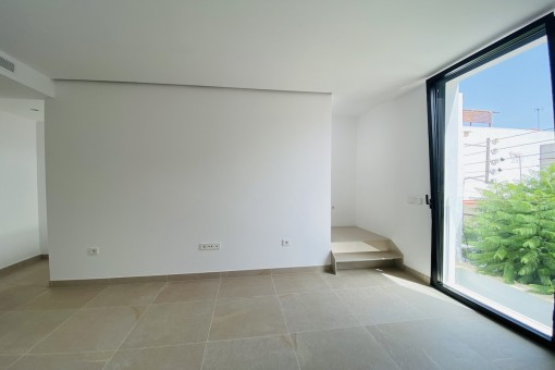 Offener Raum auf der ersten Etage