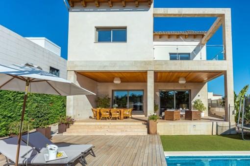 Moderne Villa in perfekter Stadtlage nahe Son Vida