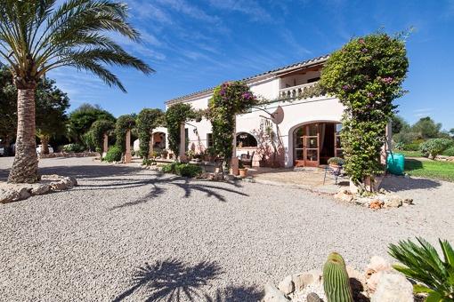 Romantisches Landhaus mit idyllischem Grundstück zwischen Felanitx und Porreres