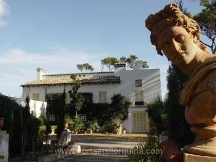 Herrschaftliches Haus in 1. Meereslinie bei Cala Ratjada