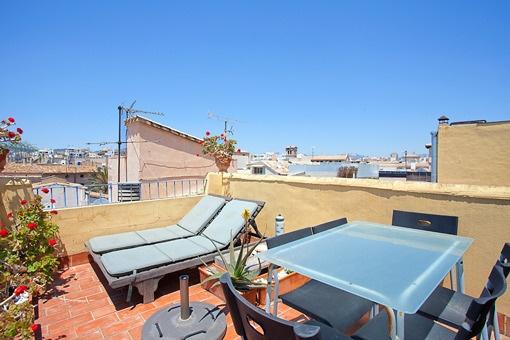Penthouse mit großzügigen Terrassen im Herzen der Altstadt Palmas