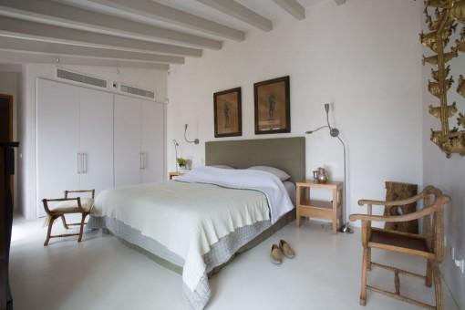 Hauptschlafzimmer mit wunderschönem Ausblick