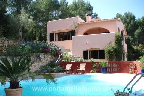 Finca mit viel Privatsphäre und spektakulärem Panoramablick bis Palma
