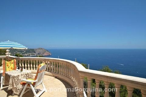 Traumhaft schöne Luxusvilla in Bestlage mit Rundblick auf die Nordostküsten Mallorcas