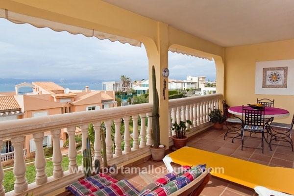 Wohnung in Meeresnähe - nur 100 m vom Meer entfernt - mit Panoramablick auf die Bucht von Palma