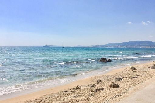 Wunderschöner Strand von Es Molinar