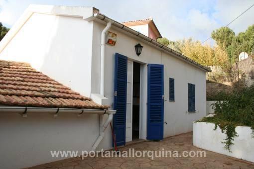 Dorfhaus mit Terrasse in Strandnähe und in ruhiger Wohnlage