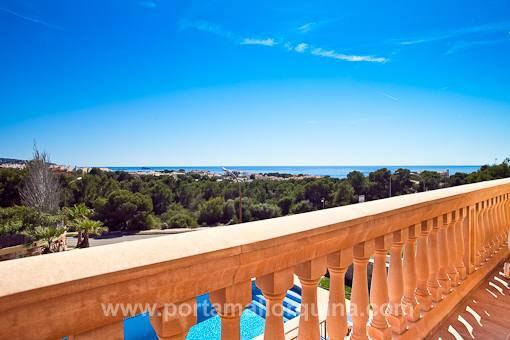 Fantastischer Meerblick von der Terrasse