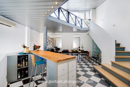 Luxuriöse Designer-Stadtvilla in bester Lage des Puerto de Alcudia
