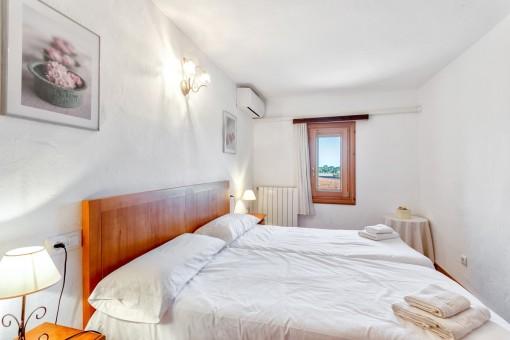 Klimaanlage und Heizung im Schlafzimmer