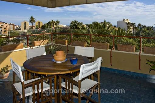 Außergewöhnliche Wohnung mit fantastischem Meerblick in Portixol