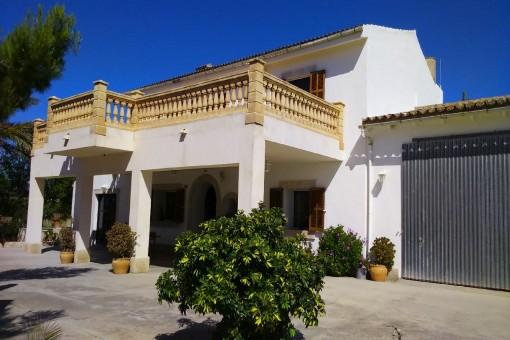 Großzügige Finca mit fantastischem Blick auf die Berge Mallorcas