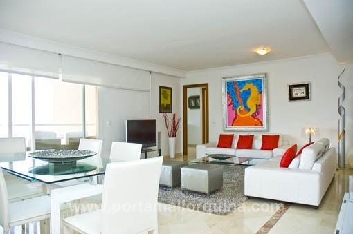 Nähe Porto Pi - Modern möblierte Wohnung mit Hafenblick