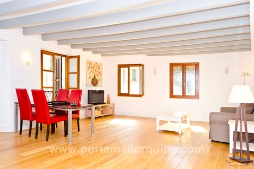 Modernes Apartment mit Loft-Charakter in Altstadt-Palast in Palma