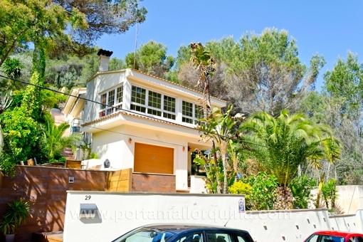 Geschmackvoll eingerichtetes Haus in ruhiger Lage in Costa den Blanes