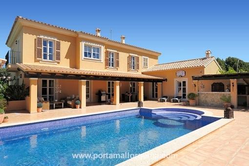 Sehr gemütliches und grosses Einfamilienhaus in sehr ruhigen Lage in Sol de Mallorca